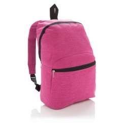 Classic two tone backpack, pink