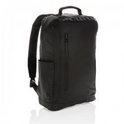 "Fashion black 15.6"" laptop backpack PVC free, black"