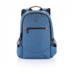 Fashion duo tone backpack, blue