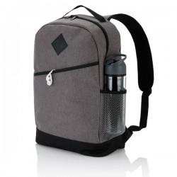 Modern style backpack, grey