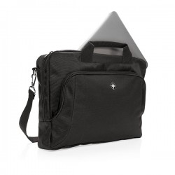 """Deluxe 15"""" laptop bag, black"""