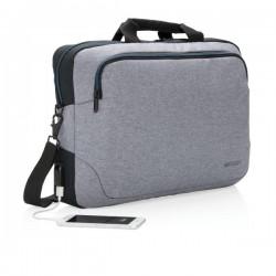 "Arata 15"" laptop bag, grey"