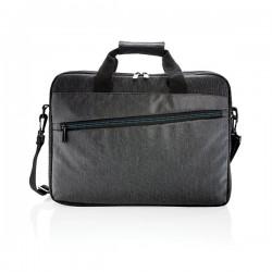 900D laptop bag PVC free, black