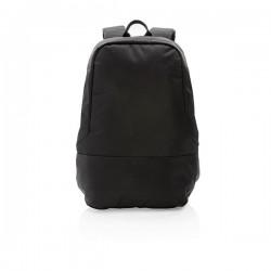 Standard RFID anti theft backpack PVC free, black