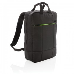 "Soho business RPET 15.6"" laptop backpack PVC free, black"