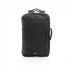 Swiss peak convertible travel backpack PVC free, black