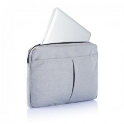 "Laptop sleeve 15"" PVC free, grey"