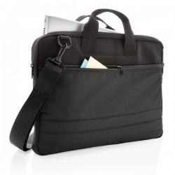 "15"" document laptop sleeve PVC free, black"