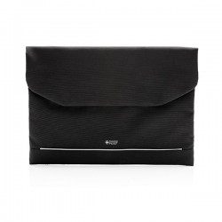 """Swiss Peak RFID 15.6"""" laptop sleeve PVC free, black"""