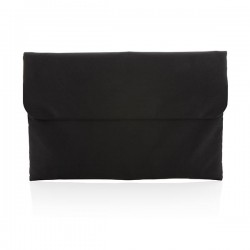 "Magnetic closing 15.6"" Laptop sleeve PVC free, black"
