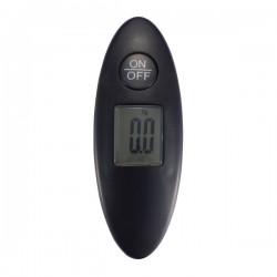 Digital luggage scale, black