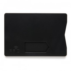 RFID anti-skimming cardholder, black
