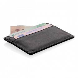 RFID anti-skimming card holder, black