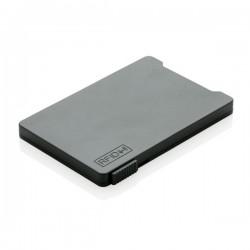 Multiple cardholder with RFID anti-skimming, black