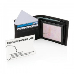 Anti-skimming RFID shield card, white