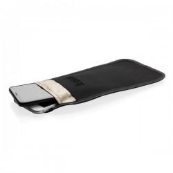 Phone case with signal blocking and anti-radiation, black