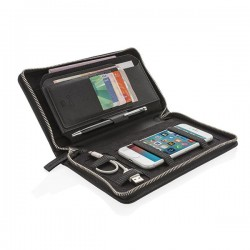 Swiss Peak Heritage RFID travel wallet, black