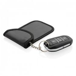 Anti theft RFID car key pouch, black