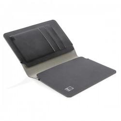 Quebec RFID safe passport holder, black
