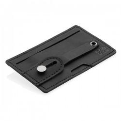 3-in-1 Phone Card Holder RFID, black