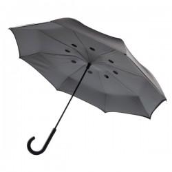 "Auto Close Reversible umbrella 23"", grey"