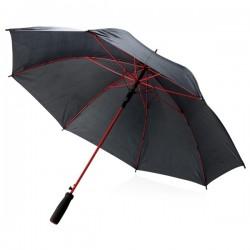 """Coloured 23"""" fibreglass umbrella, red"""