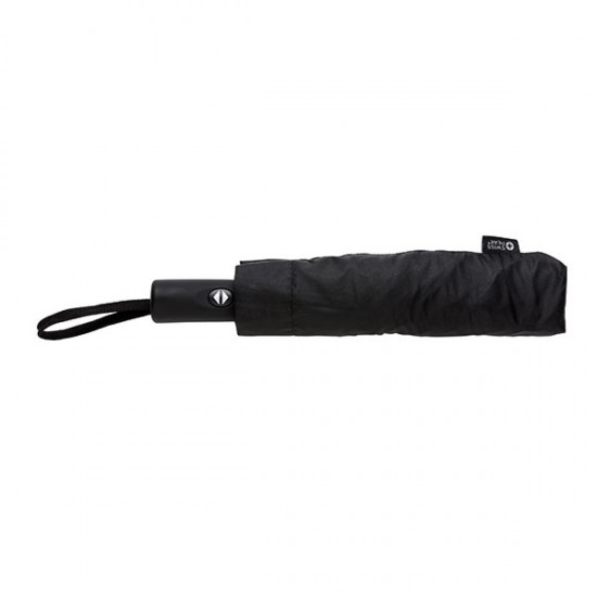 "Swiss Peak 23"" foldable reversible auto open/close umbrella,"