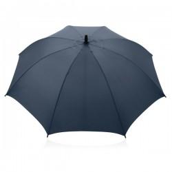 """Full fibreglass 23"""" storm umbrella, blue"""