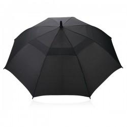 "Swiss peak Tornado 23"" storm umbrella, black"