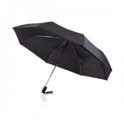 """Deluxe 21,5"""" 2 in 1 auto open/close umbrella, black"""
