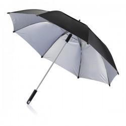 """27"""" Hurricane storm umbrella, black"""