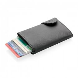 C-Secure RFID card holder & wallet, black