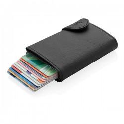 C-Secure XL RFID card holder & wallet, black