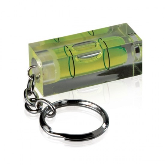 Libelle keychain level, green