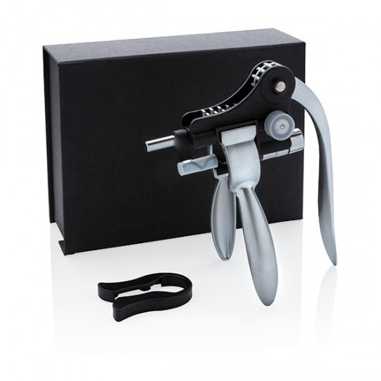 Executive pull it corkscrew, black