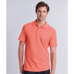 """Softstyle""""! adult double piqué polo"""