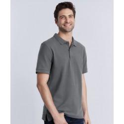 Premium Cotton® double piqué sport shirt