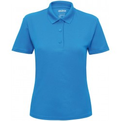 Women's performance double piqué sport shirt