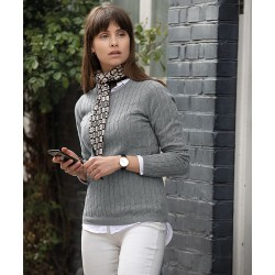 Women's Winston cable knit jumper